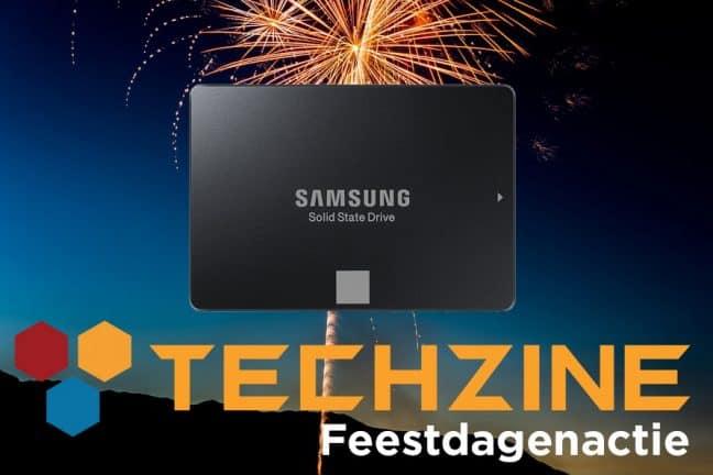 Techzine Feestdag 15: Win een Samsung 750 Evo SSD
