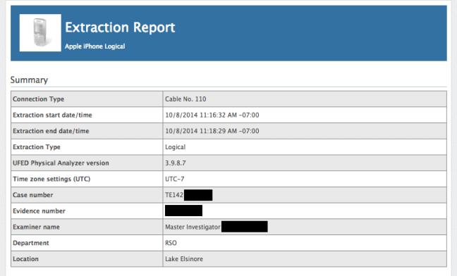 smartphonehack-extractierapport