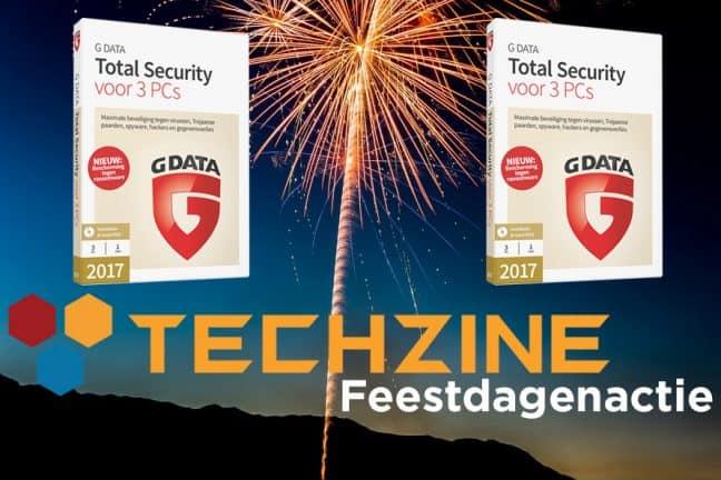Techzine Feestdag 14: Win G Data Total Security voor Windows