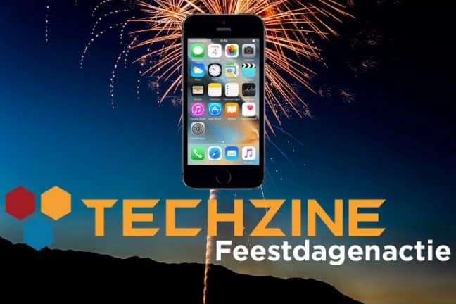 Techzine Feestdag 20: Win een Apple iPhone 5s