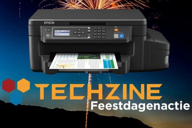 Techzine Feestdag Dag 23: Win een Epson EcoTank ET-3600