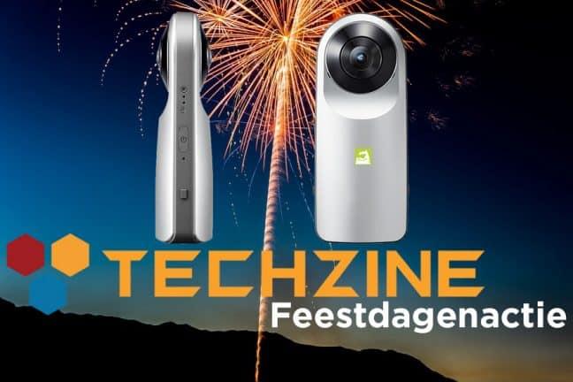 Techzine Feestdag 13: Win een LG 360 Cam