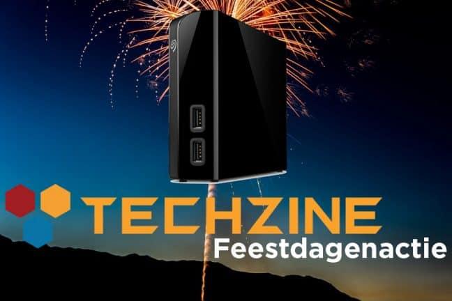 Techzine Feestdag 12: Win een Seagate Backup Plus Hub