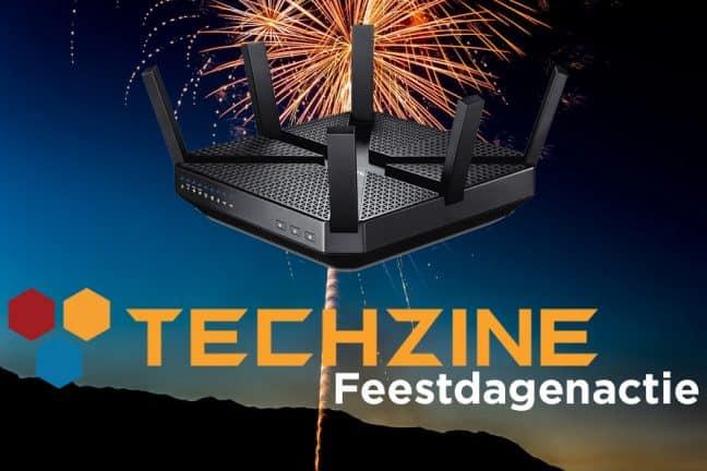 Techzine Feestdag 17: Win een TP-Link Archer C3200 router