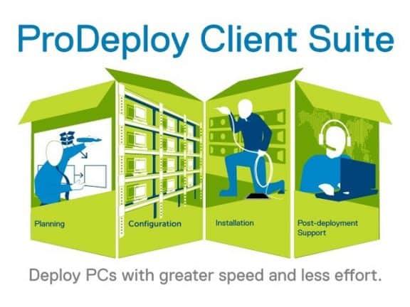 Dell EMC komt met ProDeploy Client Suite