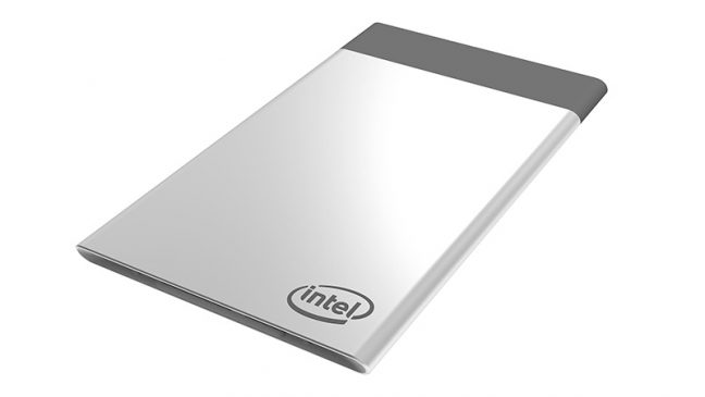 Intel introduceert Compute Card,  pc op creditcardformaat