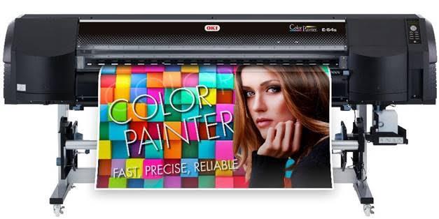 OKI lanceert ColorPainter E-64S grootformaat printer