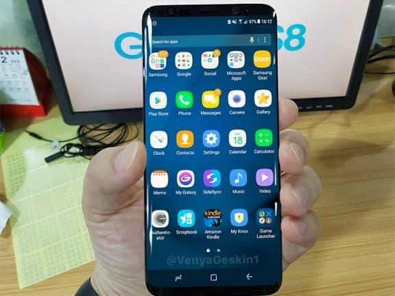 Zuid-Koreanen klagen over te rood Samsung Galaxy S8-scherm