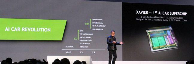 Nvidia en Bosch gaan samenwerken aan zelfrijdende auto's