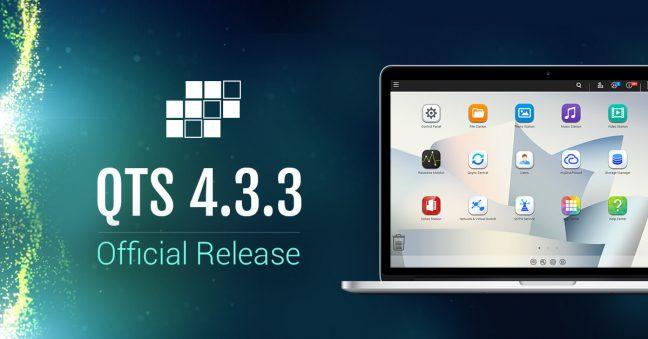 QNAP introduceert nieuwe versie NAS-besturingssysteem QTS 4.3.3