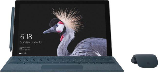 Eerste blik op de vernieuwde Microsoft Surface Pro 4 onthuld