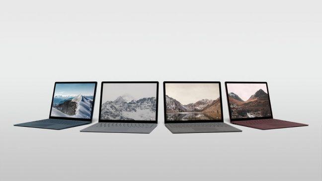 Foto's tonen nog niet onthulde Microsoft Surface laptop