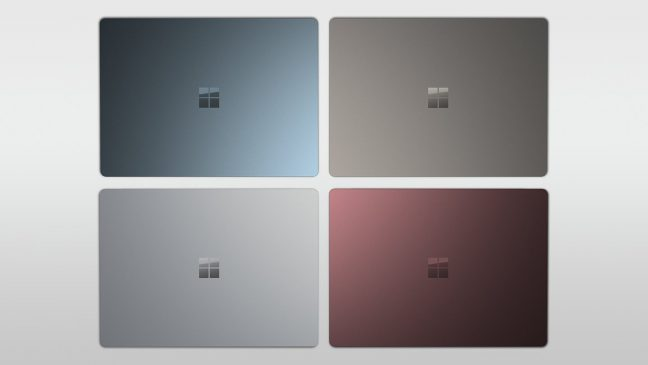 Microsoft Surface Laptop, Pro en Studio nu in Nederland te koop