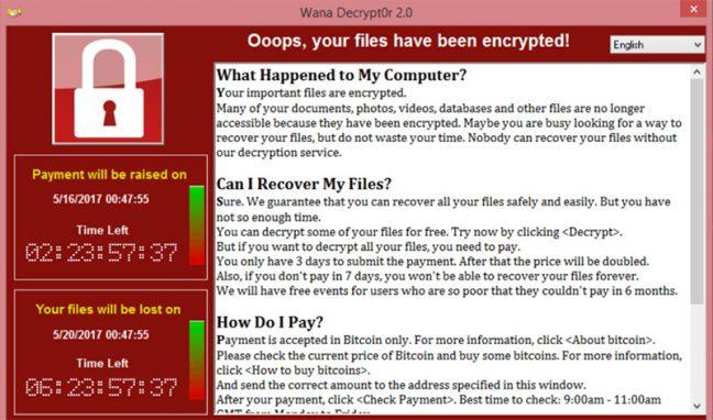 WannaCry bestanden terughalen met speciale tool