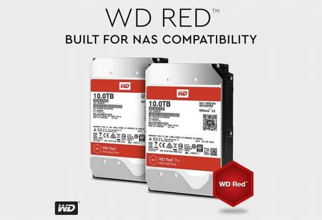 WD Red en WD Red Pro 10TB-hdd's voor NAS geïntroduceerd
