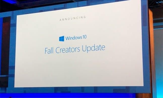 Microsoft begint uitrol van Windows 10 Fall Creators Update naar Insiders