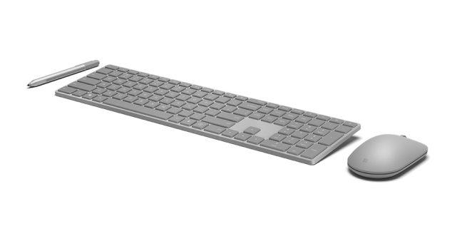 Microsoft presenteert draadloos Modern Keyboard met vingerafdrukscanner