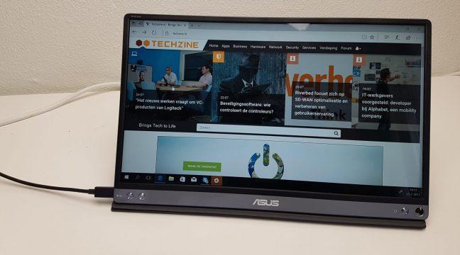 Review: Asus ZenScreen MB16AC – compacte mobiele USB-monitor