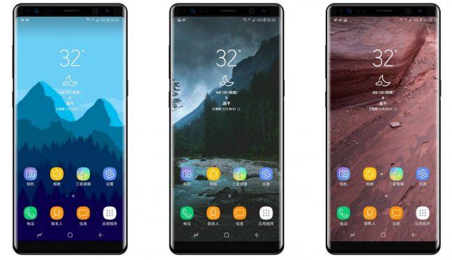 'Galaxy Note 8 lek toont design van Samsung's nieuwe smartphone'