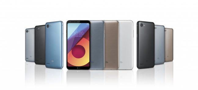 LG presenteert de Q6-smartphone