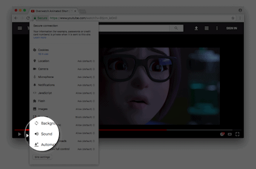 Google Chrome neemt stappen tegen automatisch afspelende video's