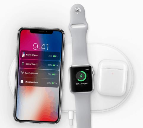Apple onthult ook eigen draadloze lader: AirPower