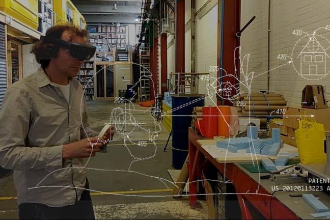 Patent Attent: Microsoft Hololens als kunst en gedachte-experiment tijdens het Nederlands Film Festival