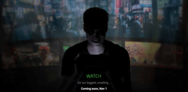 Razer presenteert 1 november vermoedelijk zijn eerste smartphone