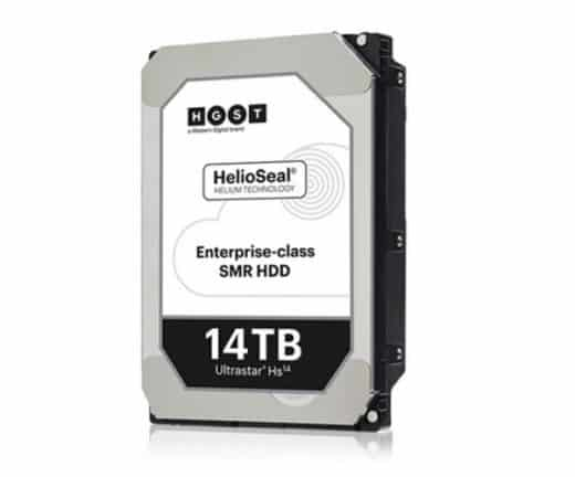 Western Digital onthult 14TB HDD voor enterprise