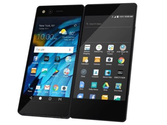 ZTE lanceert bizarre opvouwbare smartphone Axon M