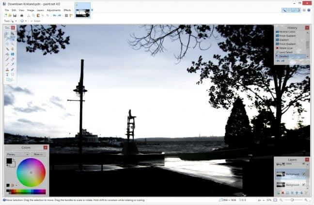 Goedkoop Photoshop-alternatief Paint.NET eindelijk beschikbaar in de Microsoft Store