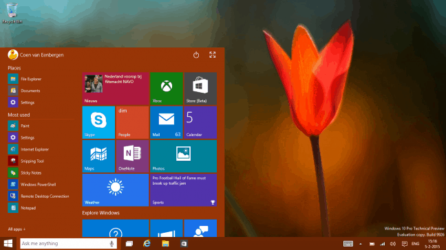 Microsoft biedt gebruiker meer controle over privacy met Creators Update Windows 10