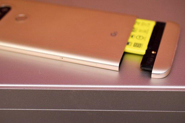LG stapt af van modulaire technologie