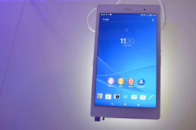 Hands-on: Sony Xperia Z3 Tablet Compact