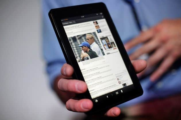 Nieuwe Kindle Fire-tablets komen met advertenties