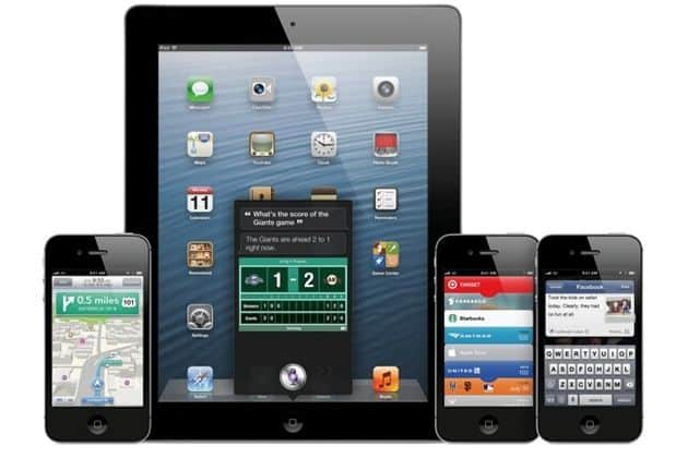 iOS 6 voor iPad, iPhone & iPod touch