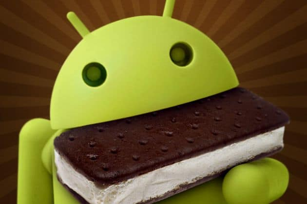 '10 procent Androids draait Ice Cream Sandwich'